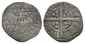 World Coins - Ireland - Edward I - Long Cross Penny