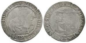 English Stuart Coins - James I - Halfcrown