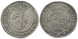 World Coins - Denmark - Frederik III - 1658 - 4 Marks (Krone)