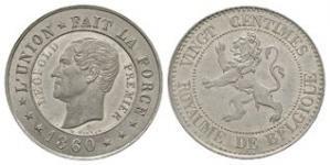 World Coins - Belgium - 1860 - Pattern (Essai) 20 Centimes