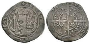 World Coins - Scotland - Robert II - Edinburgh - Groat