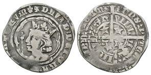 World Coins - Scotland - David II - Edinburgh - Groat