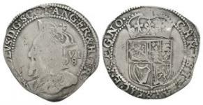 World Coins - Scotland - Charles I - Half Merk