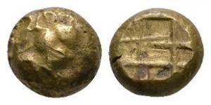 Ancient Greek Coins - Ionia - Ephesos - Electrum Stag Hekte