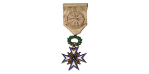 World Award Medals - France - Colonial Africa - Officer of the Order of the Black Star of Benin