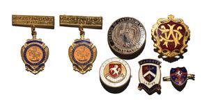 British Award Medals - Kent Related Enamelled Badges [7]