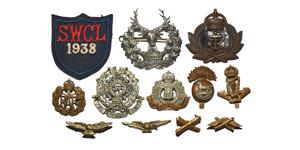 British Military Badges - Mixed Cap Badges Group [12]