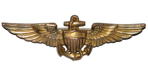 World Military Medals - USA - WW2 Naval Aviator - Silver-Gilt Wings Badge