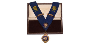 British Award Medals - RAOB - Boxed Primo Collar with Badges