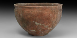 Bronze Age Decorated Bowl