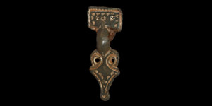 Anglo-Saxon Chip-Carved Brooch