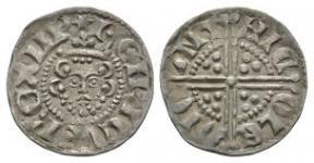 English Medieval Coins - Henry III - Canterbury / Nichole - Long Cross Penny