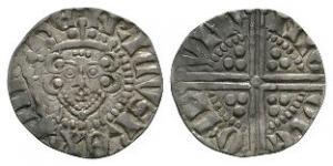 English Medieval Coins - Henry III - London / Nichole - Long Cross Penny