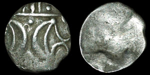 British Celtic - Iceni - Pattern Horse- Silver Half Unit