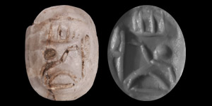 Phoenician Stamp Seal with Figure