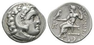 Ancient Greek Coins - Macedonia - Alexander III (the Great) - Zeus Drachm