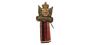 World Military Medals - Germany World War I - Wilhelmsdorf - Military Service Badge