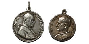World Commemorative Medals - Vatican - John XXIII/Paul VI - Silvered Medals [2]