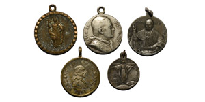 World Commemorative Medals - Vatican - Leo XIII and Pius XI - Medals [4]