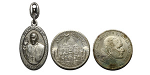 World Commemorative Medals - Vatican - John Paul II and Francis - Medals [3]