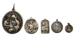 World Commemorative Medals - Italy - Silver Religious Medals [5]