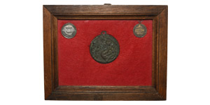 World Commemorative Medals - Italy - Framed Medal Group [3]