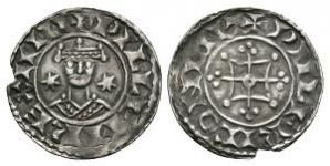 Norman Coins - William I - Canterbury / Wulfric - Two Stars Penny