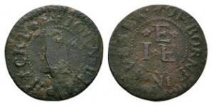 British Tokens - 17th Century - Sussex / Ellphicke Token Farthing