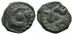 Celtic Iron Age Coins - Gaul - Lingones - Revolving Beasts Potin