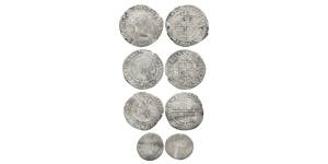 English Tudor Coins - Elizabeth I - Sixpences and Threepence [4]