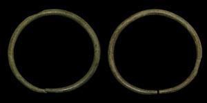 Bronze Age Arm Ring Pair