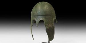 Greek Chalcidian Helmet