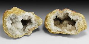 Natural History - Crystal Specimen Pair