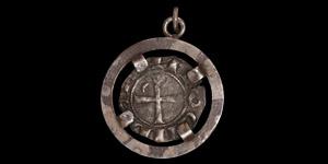 Crusader Bohemond III of Antioch Coin Pendant