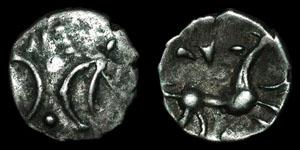 British Celtic - Iceni - Silver Half Unit