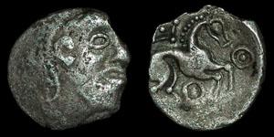 British Celtic - Iceni - Dead Head Type - Silver Unit