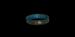 Post Medieval Enamelled Ring