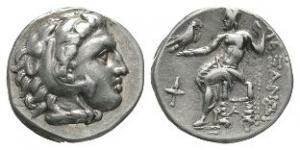 Ancient Greek Coins - Macedonia - Alexander III - Zeus Drachm