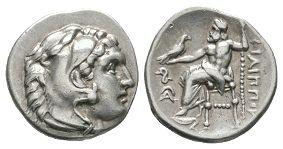 Ancient Greek Coins - Macedonia - Philip III - Zeus Drachm