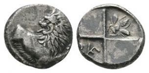 Ancient Greek Coins - Thrace - Cherronesos - Lion Hemidrachm