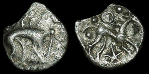 British Celtic - Iceni - Boar/Horse - Silver Half Unit