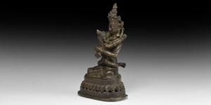 Tibetan Chakra Samvara Statuette