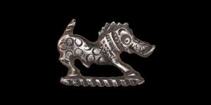 Roman Silver Boar Brooch