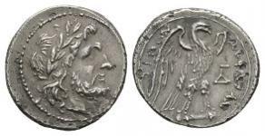 Ancient Greek Coins - Akragas - Eagle Half Shekel