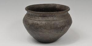 Celtic Iron Age - Burnished Coarseware Vessel