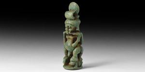 Egyptian Multi Pataikos Amulet