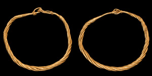 Viking Gold Bracelet Pair