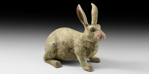 Chinese Tang Rabbit Figurine