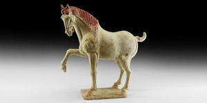Chinese Tang Prancing Horse