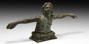 Roman Orontes River God Figure